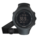 Часы спортивные Suunto Ambit3 Sport ( HR) black SS020678000