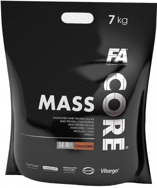 Гейнер Fitness Authority MASS CORE CHOCO, 7 кг