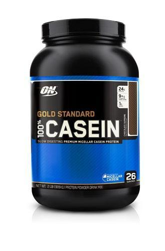 Протеин Optimum Nutrition Gold Standard Natural 100% Casein Chocolate Creme, 2 lbs