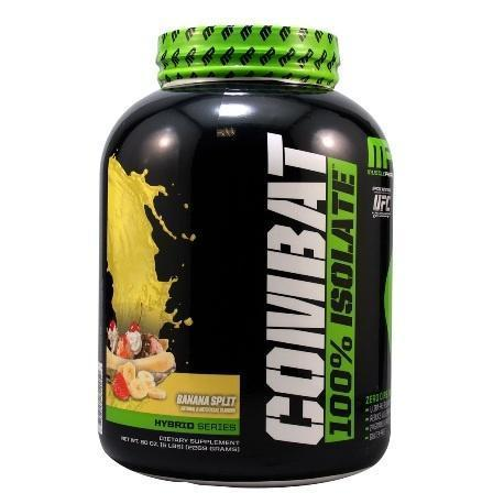 Протеин MusclePharm COMBAT ISOLATE 5LB банановый, 2,27 кг