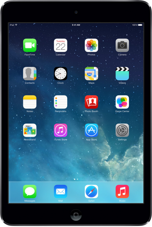 Apple iPad mini с дисплеем Retina 32GB Wi-Fi + 4G Серый космос