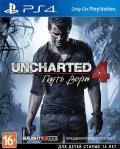 Игра для PS4 Uncharted 4: A Thief's End (Рус.версия)