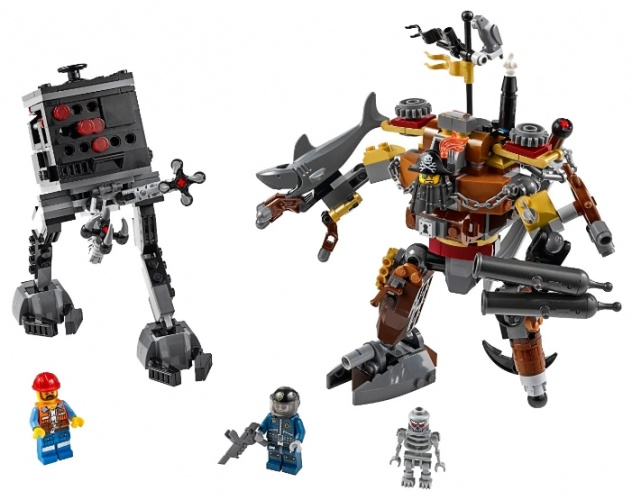 LEGO Movie 70807 MetalBeard Дуэль