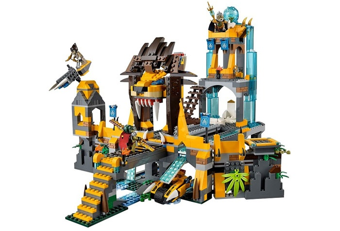 LEGO Legends of Chima 70010 Храм ЧИ клана Львов