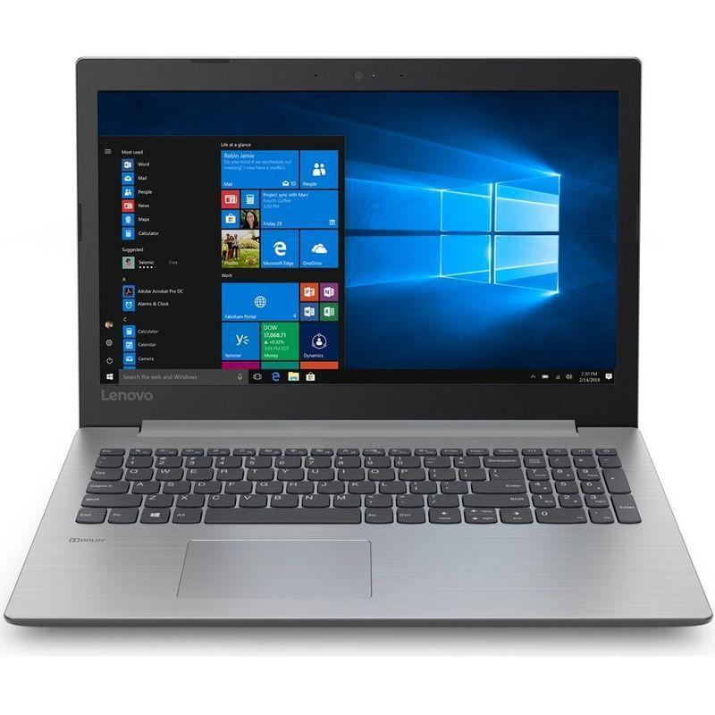 Ноутбук Lenovo Ideapad 330-15IKB Intel Core i5-8250U 4Gb DDR4 500Gb HDD Nvidia Geforce MX150 2GB серебристый