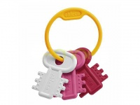 Погремушка Chicco Teething Key Ring Pink 3 m+