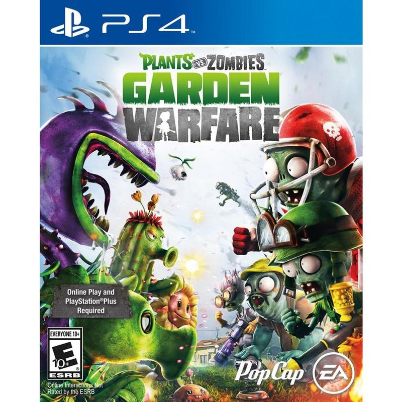 Игра для PS4 Plants vs. Zombies Garden Warfare английская версия