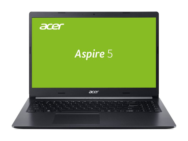 Ноутбук Acer Aspire A515-54 Intel Core i5-8265U 4GB DDR4 500GB HDD + 120GB SSD Linux FHD черный