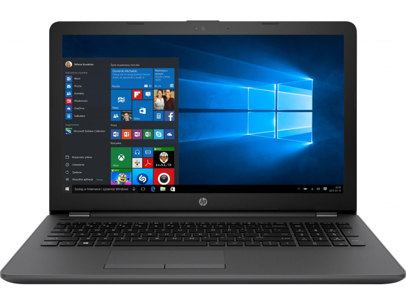 Ноутбук HP 250 G6 Intel Core i5-7200U 8GB DDR4 1000GB HDD + 256GB SSD AMD RADEON 520 DOS черный
