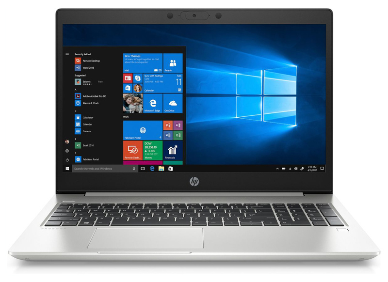 Ноутбук HP Probook 450 G6 Intel Core i5-8265U 4GB DDR4 128GB SSD W10 серебристый