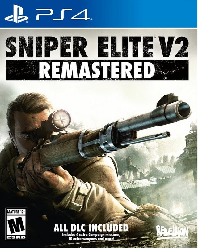 Игра для PS4 Sniper Elite V2 Remastered русская версия
