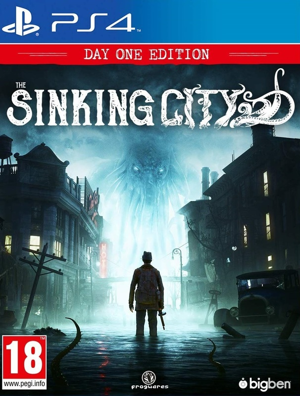 Игра для PS4 The Sinking City русская версия