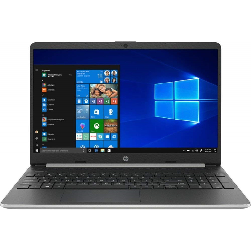 Ноутбук HP 15-DY1023DX Intel Core i5-1035G4 12GB DRR4 256GB SSD W10 серебристый