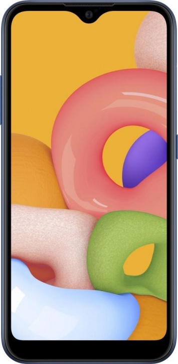 Сотовый телефон Samsung Galaxy A01 (2020) 16GB (A015F/DS) синий