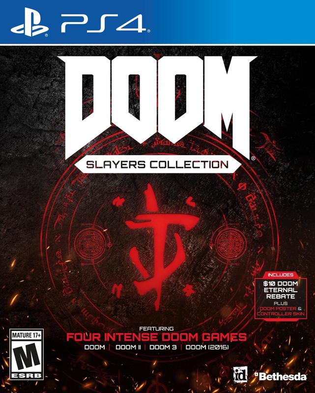 Игра для PS4 Doom Slayers Collection