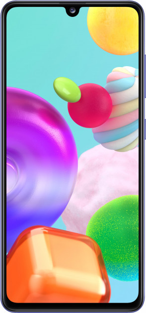 Сотовый телефон Samsung Galaxy A41 64GB (SM-A415F/DS) синий