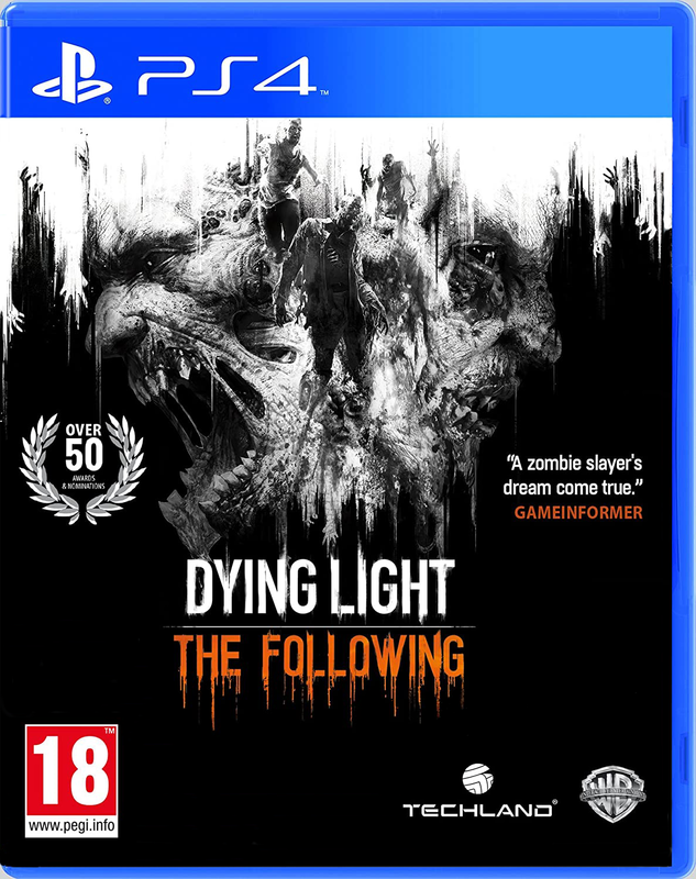 Игра для PS4 Dying Light: The Following с русскими субтитрами