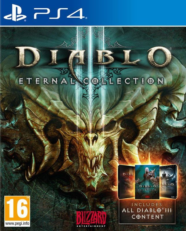 Игра для PS4 Diablo III: Eternal Collection русская версия