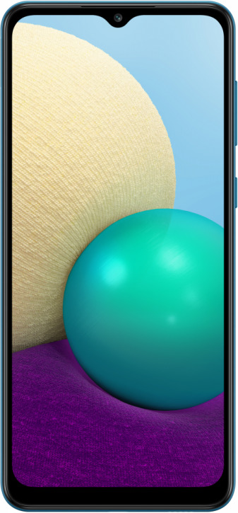 Сотовый телефон Samsung Galaxy A02 (2021) 32GB (SM-A022F/DS) синий
